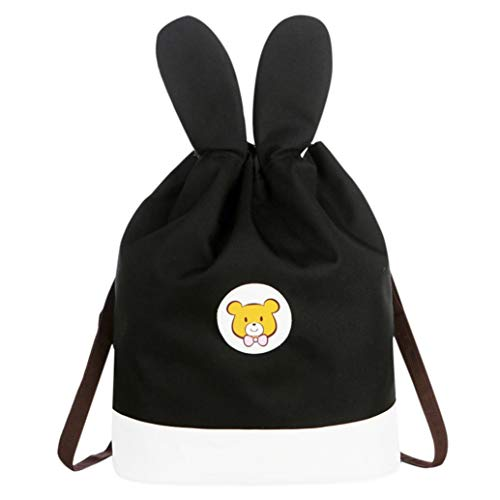 Mother Mom EUzeo Bags Backpack Unisex Drawstring Students Cartoon Adult Black School amp;Me 4dgRfqwg