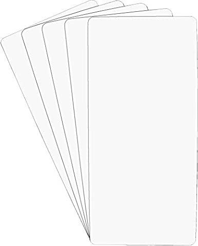 (30) White Heavy Duty 40mil CD Longbox Divider Cards - 6