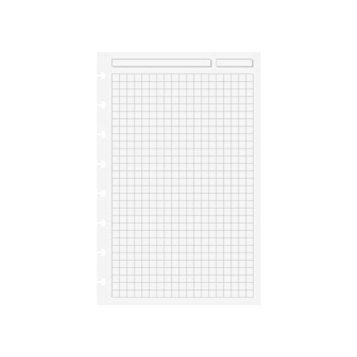 Levenger Special Request Circa Full-Page Grid Refills, 100 sheets, Junior ()