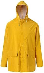 Rain Waterproof Coat - Yellow