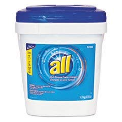 ALL 32.5 lb. Packet Citrus Powder Laundry Detergent, 1 Pack by All