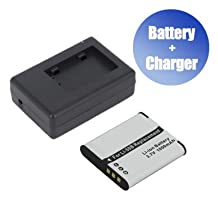 Battpit™ Battpit™ New Digital Camera Battery + Charger Replacement for Olympus Stylus Tough TG-860 (1000 mAh) (Ship from Canada)