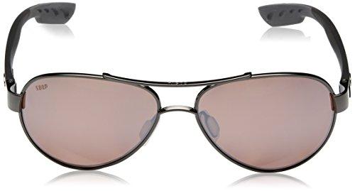 b4e7f2cbac Sunglasses Costa del Mar Womens Loreto Polarized Iridium Aviator ...