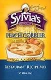 Sylvias Mix Cobbler Peach 9 Ounce (Pack of 6)