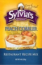 Sylvias Mix Cobbler Peach 9 Ounce (Pack of 6)