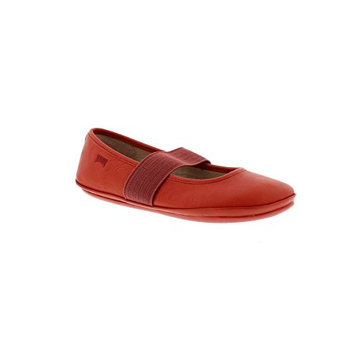 Camper Kids Girls' Right 80025 Ballet Flat, Red, 29 M EU Little Kid (11.5 US) by Camper