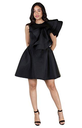 Buy bell sleeve dress plus size - 7
