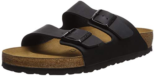 Birkenstock Women's Arizona Casual Sandals 37 M EU /6-6.5 B(M) US - Croc Black Suede