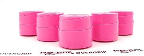 Overgrip Pro Elite Confort Perforado Rosa Flúor: Amazon.es ...