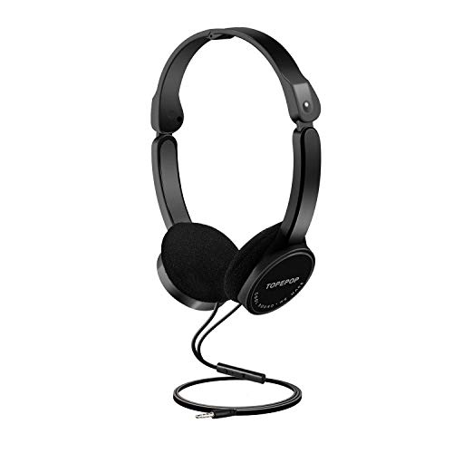 - Kids Headphones On Ear Headsets for Boys Girls Teens Children Adjustable Headband Stereo Sound Foldable Untangled Wires 3.5mm Aux Jack
