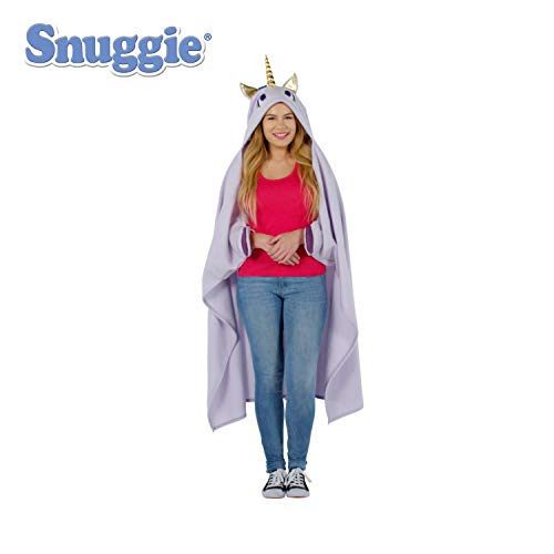 (Snuggie Tails Snuggie Unicorn – Soft, Hooded, Blanket, Robe with Sleeves, As Seen on)
