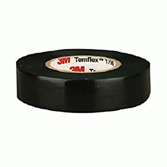 3M TEMFLEX 1700 ELECTRICAL TAPE BLACK 3//4 x 60 FT INSULATED FAST SHIP QTY 4