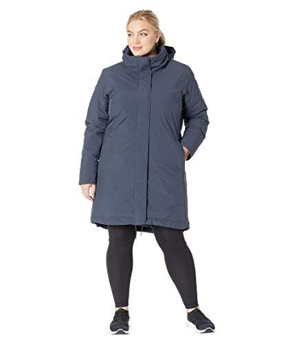 Columbia Hillsdale Plus Size Reversible Parka Jacket, 3X, India ()