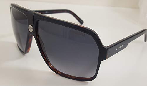 Carrera Unisex-Adult Carrera 33/s Aviator Sunglasses, Black havana, 11 mm