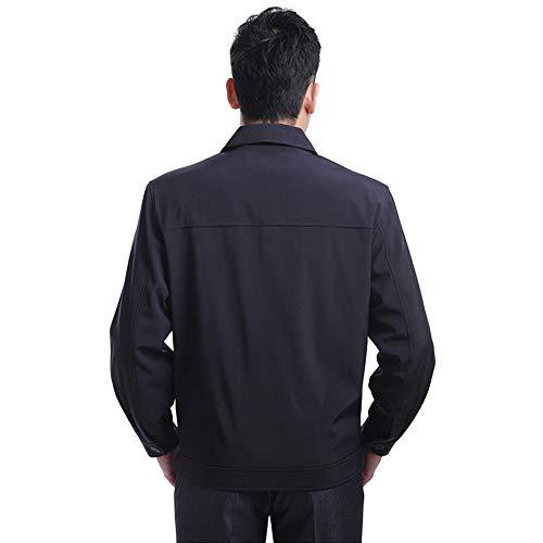 Casuale Cappotto Grandi Uomo Giacca Degli Uomini Nuove Dimensioni Inverno Cime Stile E Bavero Bozevon L'autunno 04 0xB5vqvw