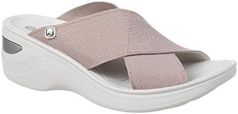BZees Womens Desire Slides Slide Sandal