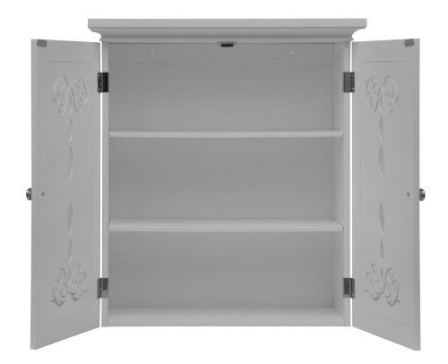 Elegant Home Fashion Dalania Wall Cabinet with 2-Door