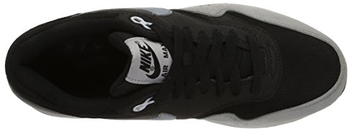 Nike Air Max 1 Essentieel, Dames Sportschoenen Multi-colored (zwart / Grijs Dove / Zuiver Platina)