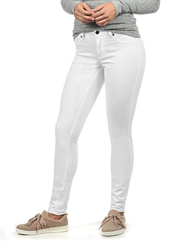 Pantalon Jean Skinny White Denim Jacqueline Lara Femme by Extensible Yong de Only Coupe gXOqY