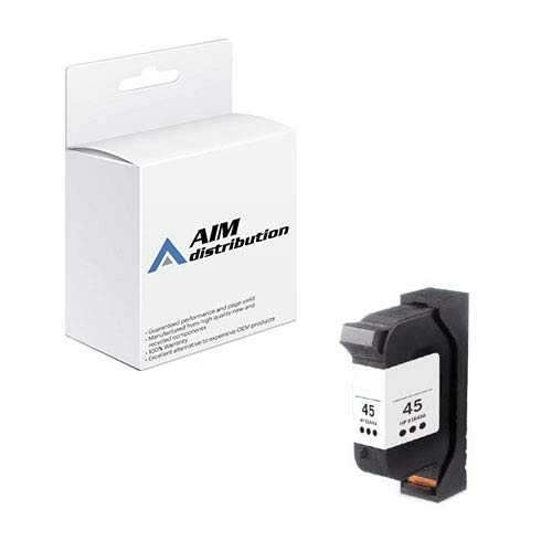 AIM Compatible Replacement for Elite Image 75220 Black Inkjet (930 Page Yield) - Compatible to HP 51645A - Generic from AIM