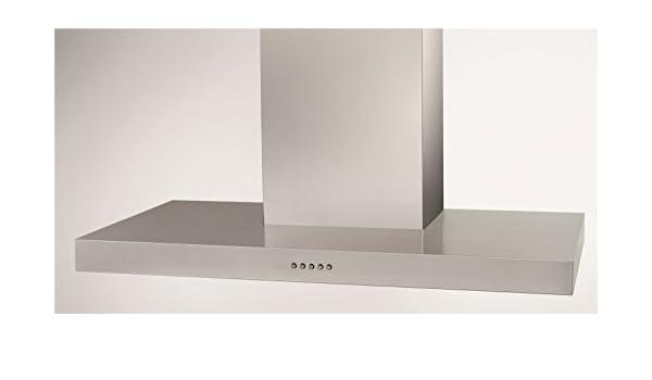 Soler & Palau BOX-600 INOX N De pared Acero inoxidable - Campana (De pared, Acero inoxidable, 28 W, 2 bombilla(s), Halógeno, Botones): Amazon.es: Hogar