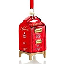 Macy's Yes Virginia 2011 Glass Mailbox Christmas Ornament by Macy's
