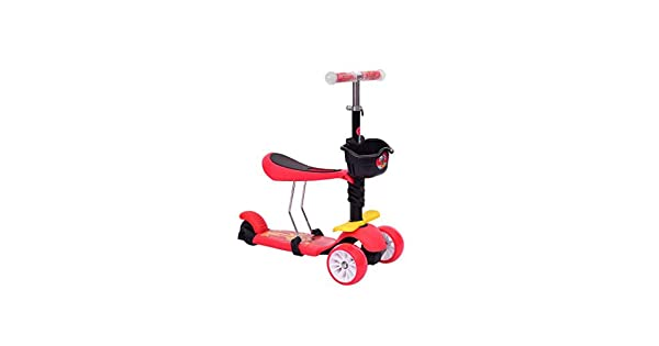Amazon.com: SXZHSM-scooter - Patinete infantil multifunción ...
