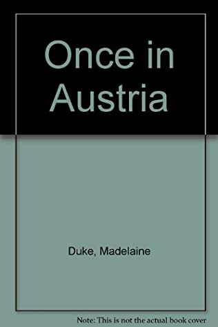 book cover of Once in Austria