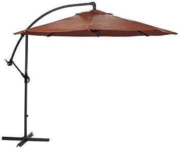 10u0027 cantilever umbrella terra cotta