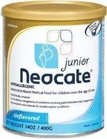 Neocate Junior Unflavored, 14.1 oz by Nutricia North America, Inc.