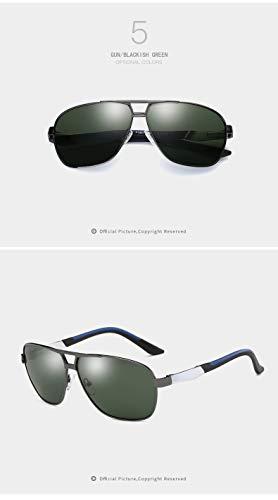 los de Hombres Moda de HD la Gafas de de de Ruanyi Las Muchachas de conducción Las Sol 1 UV400 Sol Color Gafas Personalidad de 1 Gafas de 0Z6Pnv6z