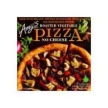 - Amy's Roasted Vegetable Pizza, No Cheese, Organic, 12-Ounce Boxes (Pack of 8) by Amy's