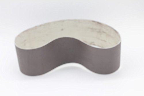 6x1-1//2 600Grit Diamond Resin Bonded Soft Flexible Polishing Grinding Sanding Belts for Glass Ceramic Porcelain Lapidary and Stone