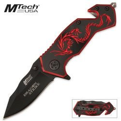 MTECH USA Xtreme MX-8058BR Fantasy Folding Knife 3.5-Inch Closed, Outdoor Stuffs