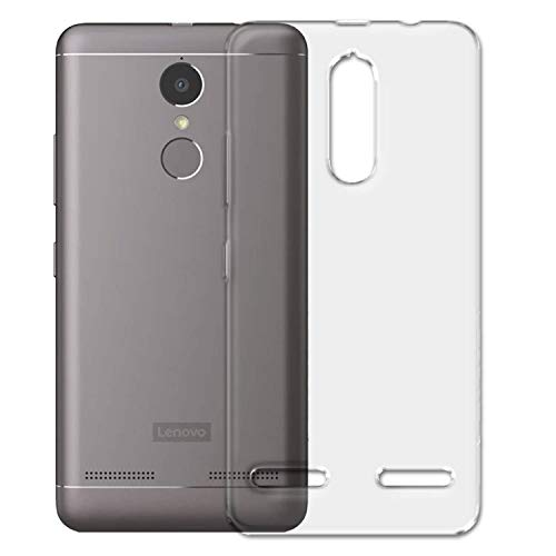 COVERNEW Silicone Back Cover for Lenovo K6 Power  K33A42   Transparent