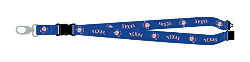 Texas Rangers PSG THROWBACK RETRO Premium Lanyard 2-sided Breakaway Clip Keychain Baseball