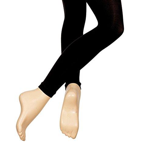 Silky Ballett Strumpfhosen Footless Schwarz