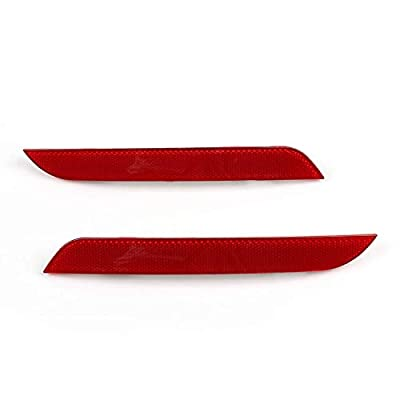 laiyoulaibao Rear Bumper Side Marker Red Reflector Warning Light for BMW 5 Series F10 F11 2010 2011 2012 2013, 1 Pc Right Passenger Side Tail Bumper Trim Reflector, OEM 63147203238: Automotive