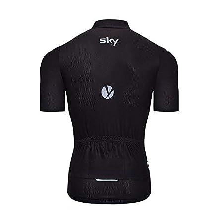 Abbigliamento da Ciclismo Camicia Mountain Bike//MTB Traspirante e Assorbente del Sudore Maglietta Corta,Maglie Ciclismo ADKE Uomo Maglie da Ciclismo