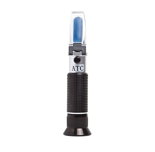 Brew Tapper Dual Scale Refractometer with ATC | Brix & Specific Gravity | Best for Beer & Wine by Brew Tapper (Image #3)