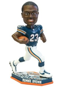 Miami Dolphins Ronnie Brown Forever Collectibles Thematic Base Bobblehead (Dolphins Head Miami Bobble)