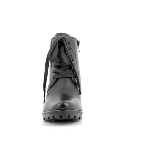 Marco Tozzi Stiefelette Größe 36 Black Combi