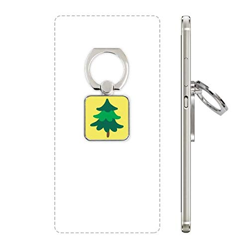 - OFFbb-USA Pine Tree Green Gradient Phone Ring Stand Holder Square Bracket Universal Support
