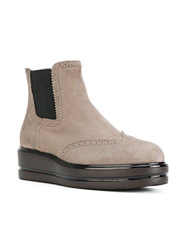Hogan Suede Hxw3230z570cr0c407 Women's Boots Beige Ankle aSvza