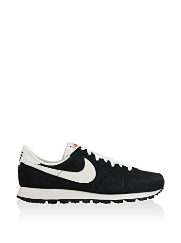 Nike 827922-001, Zapatillas de Deporte Para Hombre, Negro (Black/Summit White-Sail-Safety Orange), 45.5 EU