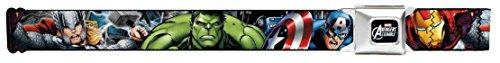 Avengers Marvel Comics Superheroes Modern Heroes Unite Seatbelt Belt (Loki Avengers Costume)