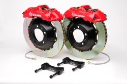 Brembo 1M2.8024A2 GT Big Brake Kit Front Slotted Infiniti G35 03-06