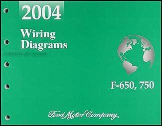2004 Ford F650-F750 Medium Truck Wiring Diagram Manual Original: Ford:  Amazon.com: Books | Ford F650 Ac Wiring Diagram |  | Amazon.com