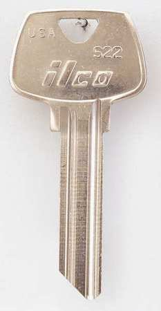 Key Blank Brass Type (Key Blank, Brass, Type S22, 6 Pin, PK10)