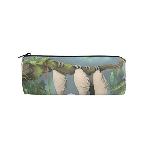 Pencil Animal Penna Sloth Zipit Cases Cute School Makeup Holder Pouch Womens Bag Organizer vwmnN08O